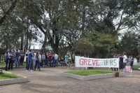 Greve no Instituto Federal de Ibirubá